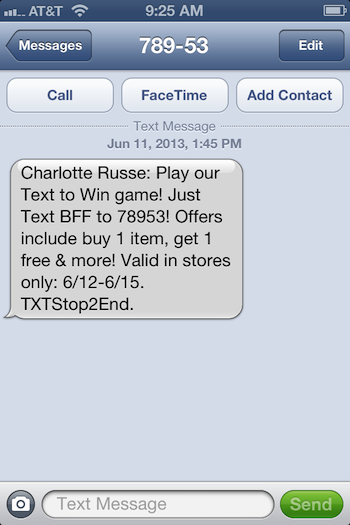 Charlotte Russe coupon codes can be used during checkout, so finish shopping before looking for the entry box. On the payment step, the box is under the billing address. Multiple coupons can be applied to .